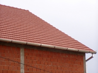 Фото крыши под керамической черепицей Glinex Trend Natur