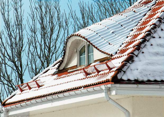 захист від снігу на даху