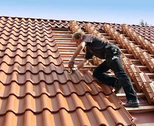 Монтаж керамічного даху